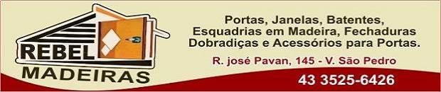 REBEL PORTAS E JANELAS DE MADEIRA